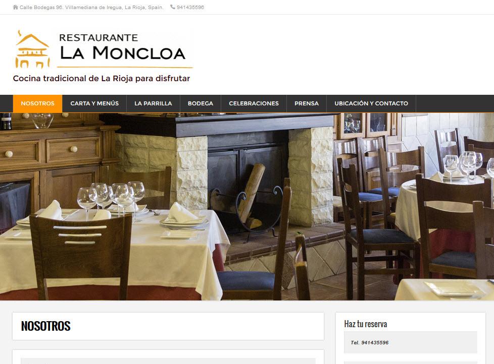 Dise o y desarrollo web logro o rioja for Hoteles de diseno en la rioja