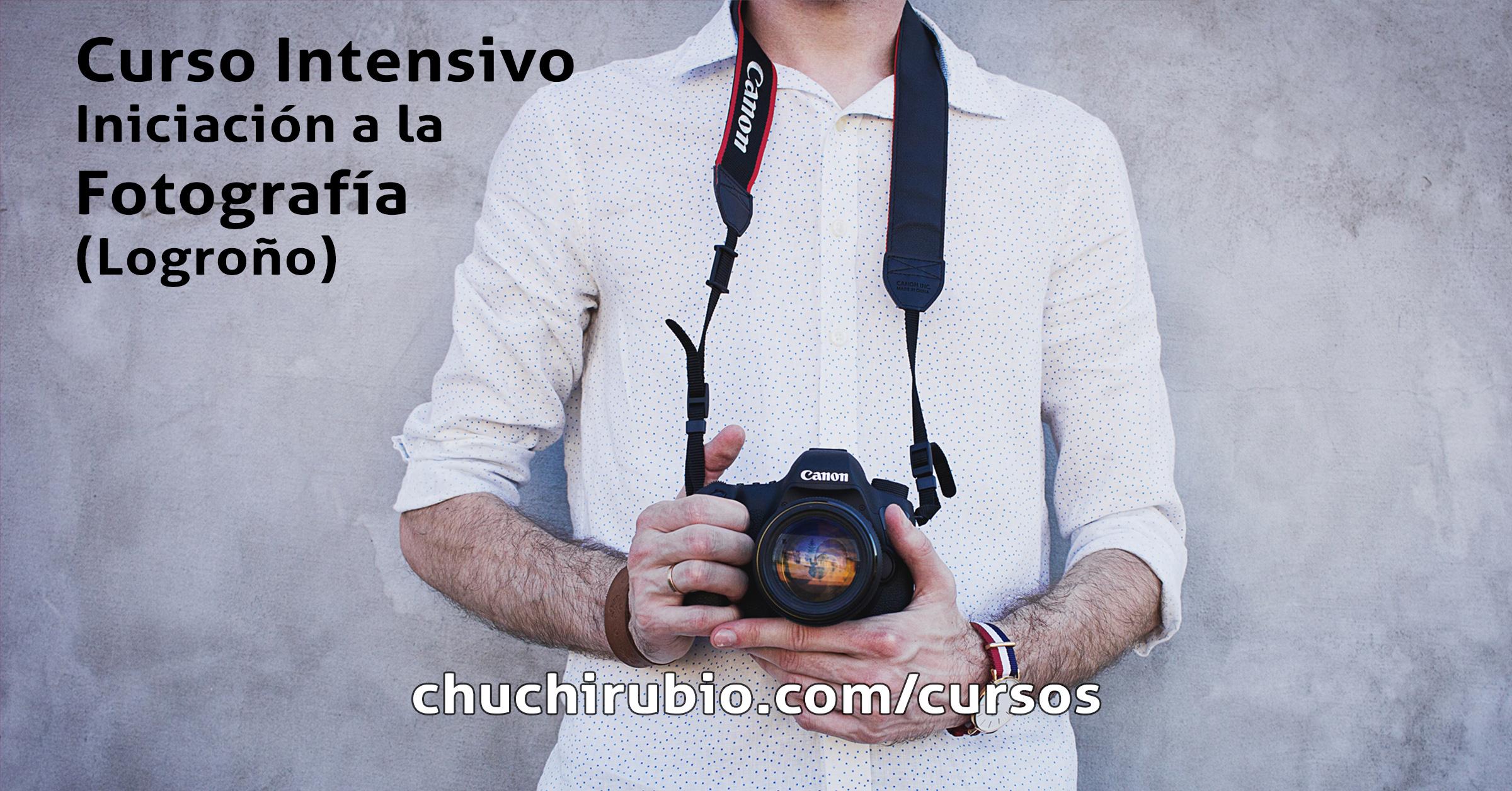 Curso o cursillo intensivo de fotografía, en Logroño.