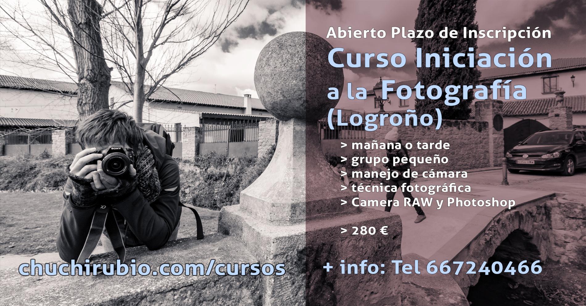 Curso Iniciación Fotografía en Logroño, La Rioja, manejo de cámara, cursillo fotografía, fotografía a domicilio