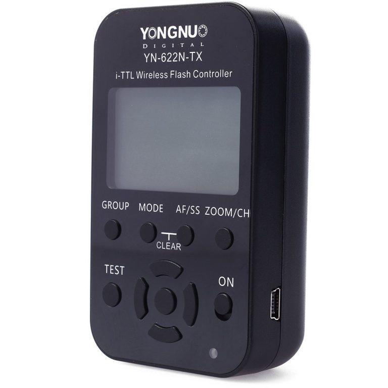 Yongnuo YN 622N TX LCD Controlador Diparador Inálambrico i TTL Transmisor para Nikon 768x768 - Flash y controlador Yongnuo Nikon